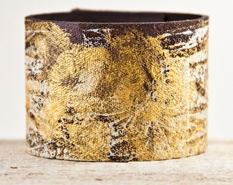 LEATHER JEWELRY, Leather Cuffs, Leather Bracelets, Leather Wristbands, Rainwheel Unique Presents