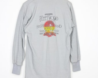 Fleetwood Mac Shirt Vintage tshirt 1977 RumoursTour Long Sleeve Polo Electric Factory Concerts Tee 1970s Stevie Nicks Blues Rock N Roll Band