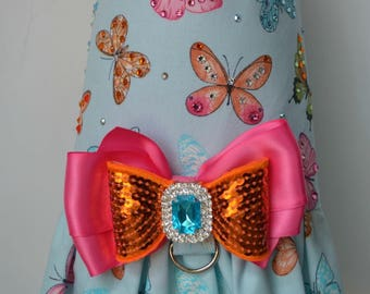 Dog Harness Vest - Butterfly