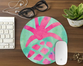 Mouse Pad Funny, PINEAPPLE Mousepad, Mouse Mat pastel Mouse Pad Office Mousemat Rectangular Mousemat Mousepad colorful mouse pad CUTE-T80475