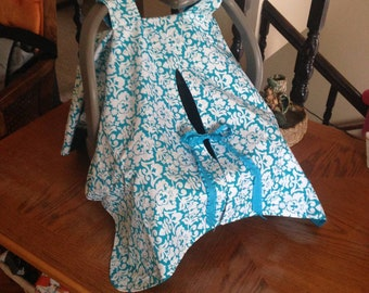 Infant Car Seat Cover Canopy