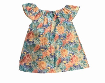 Size 5 girls floral top
