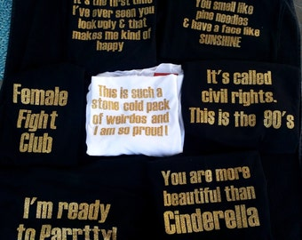 Funny bachelorette tees - Bridal party - Bridesmaids - Bride Tribe - Bride  Squad - Maid