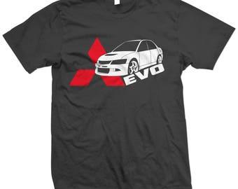 EVO 8 9 VIII IX Lancer Side Evolution T Shirt