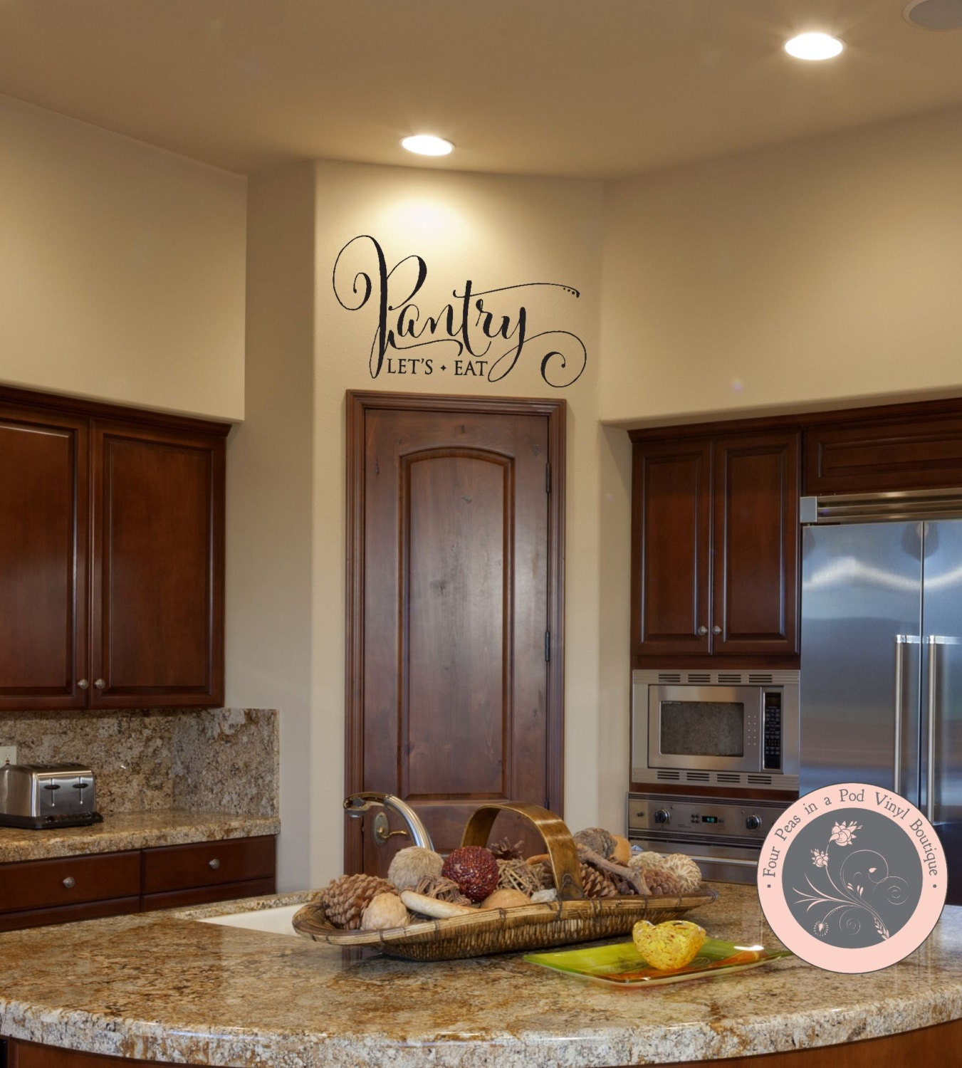 Kitchen Wall Vinyl: Wall Decals For The Home Pantry Wall Decal Kitchen Wall