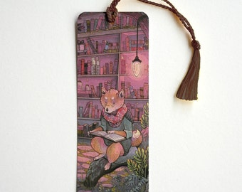 Shiba Reading Bookmark