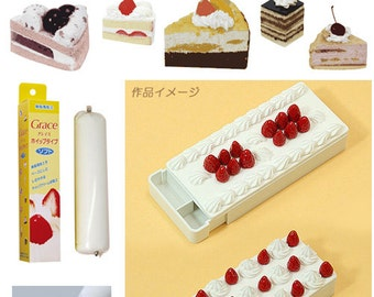 Whipped cream clay / Sweets whipped cream / Sweets accessories, shipped from Japan