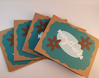 Thank You Cards -Business Thank You Cards -Thank You Cards in Bulk -Just a Note - Cards in Bulk - Thank You Cards Set - Thank You Cards Pack