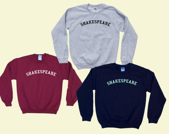 SHAKESPEARE - Crewneck Sweatshirt