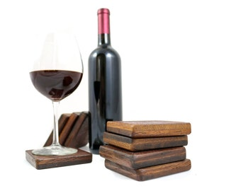 Wine Barrel Tank Wood -COASTERS 100% recycled