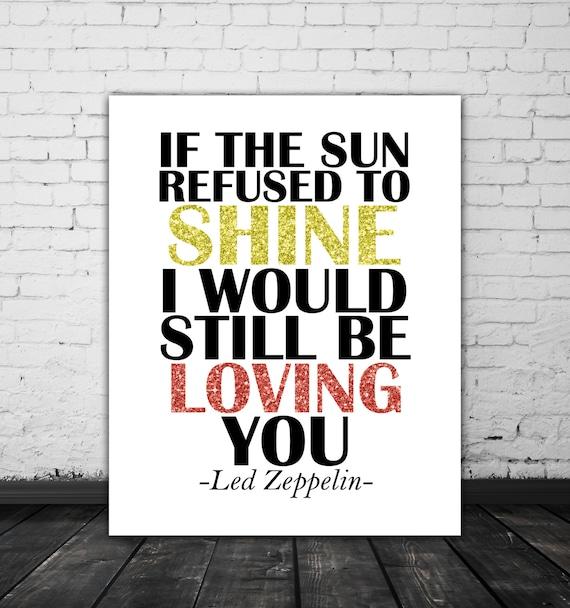 Let Me Love You Song Download: Led Zeppelin Lyrics Love Song Lyric Art Music Poster Led