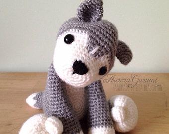 crochet pdf pattern nanook husky