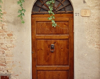 Tuscany Italy Art,Italian Door Photography of Italy,Rustic Decor,Wooden Door Print,Italy Doors,Fine Art Photography Travel,Rustic Wood Door
