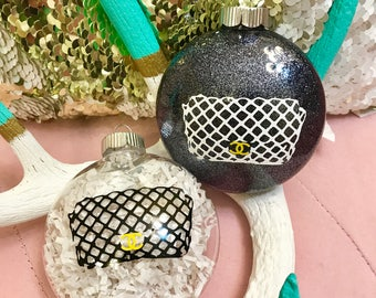 Chanel Purse Inspired Ornament