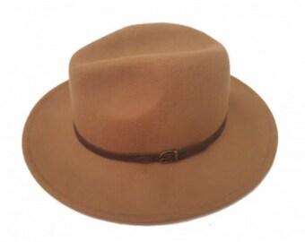 Fedora hat wool crushable