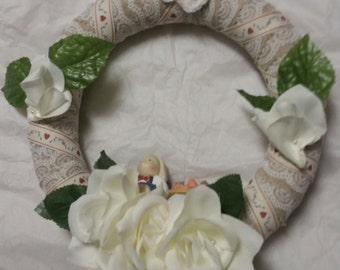 Cute bunny wreath
