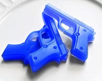 2 Gun Soap / Pistol Gun Soap / Party Favors / Water Gun Soap