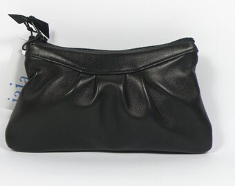 Coin purse LUCE in black