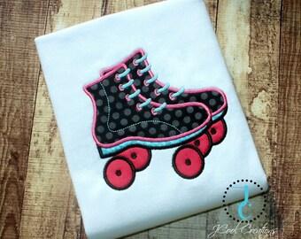 Roller Skate Shirt - Big Sister Shirt, Roller Skate Party, Girl Birthday Outfit, Roller Skate Birthday, Roller Derby Shirt, Birthday Shirt