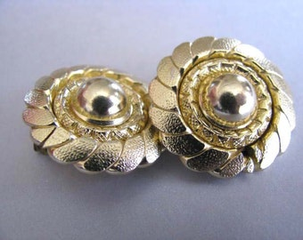 West Germany Clip On Earrings - Vintage Earrings - Original Earring Card