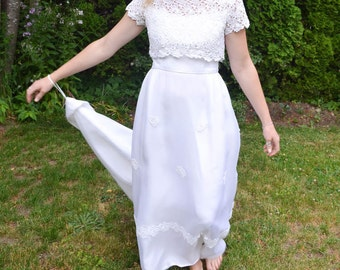 Vintage Grace Kelly Inspired Gown