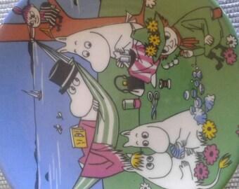Arabia Finland Moomin wallplate
