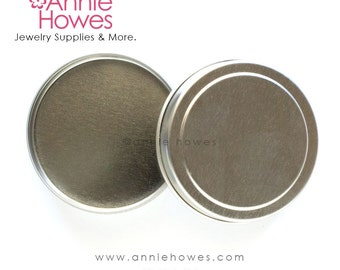 1 oz Circle Tins Ready to Decorate. Choose your quantity.