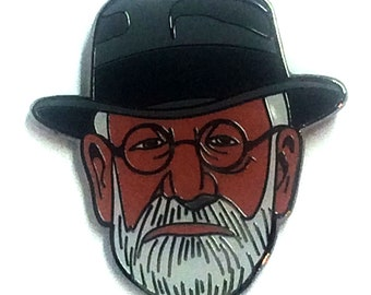 Sigmund Freud Psychology Pin