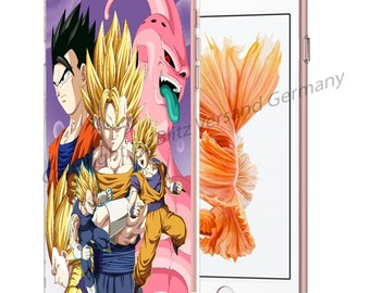 DRAGONBALL Z Smartphone transparent TPU Case with motif fit for Smartphone models Huawei iphone SAMSUNG Cartoon Comic M7