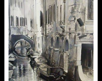 Poster Artistico 50x70cm Venice