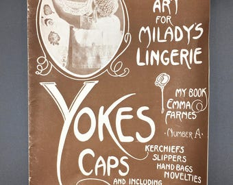 Crochet Art for Milady's Lingerie Vintage Booklet - (SW086ET)
