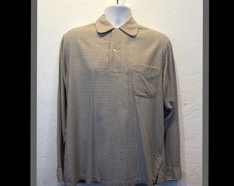 Vintage 1950s pullover shirt