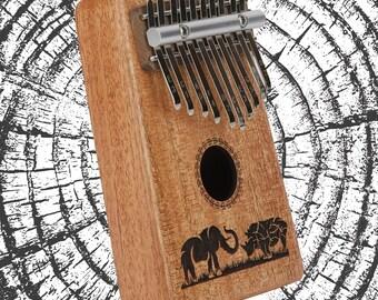 10 key kalimba mbira African Thumb Piano
