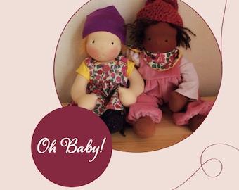 Oh Baby! E-Book für Puppenkleidung