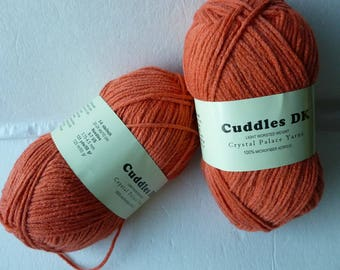 Sale Burnt Orange 129 Cuddles DK by Crystal Palace Yarns