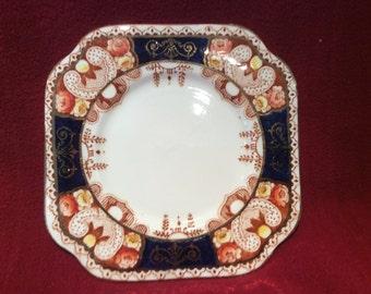 Royal Vale H.J.C. Longton Tea Plate Pattern No. 3705 circa 1930