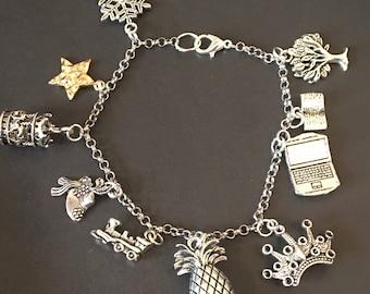 2018 Broadway Season Charm Bracelet