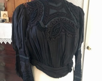 Rare Larger Sized Edwardian Bodice