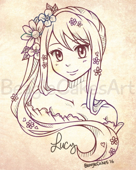 Custom Anime Portrait Style Art Personalized Drawing Caricature Commission Illustration