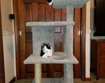 Hazel's Kitty Tower 54-Inches tall (with a base of 27in x24in wide) Digital Download