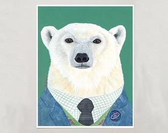 Art Print - Polar Bear - Signed by Artist - 3 Sizes - S/M/L