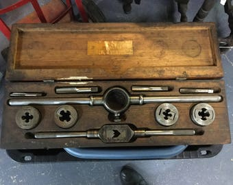 Vintage Little Gaint Screw Plate Tap and Die Greenfield MA.