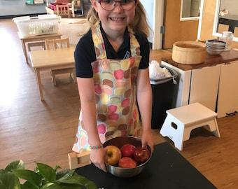 Children's Macaron Apron