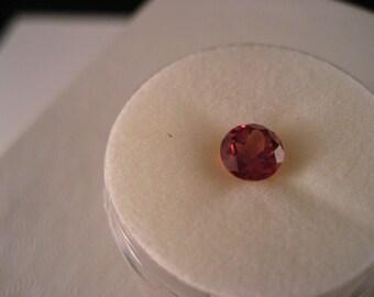Oregon Sun Stone 6 MM Red Orange