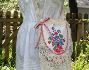 Victorian purse, gypsy bag, shabby chic handbag,