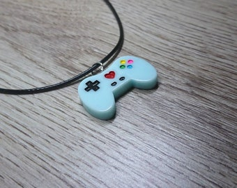 Game Controller - Gaming Necklace - Ladies Gifts - Unique Gifts - Nerdy Gifts - Cute Jewelry - Gamer Gifts - Gamer Girl - Statement Jewelry