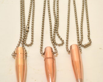 Real .50 Caliber Bullet Keychain Sniper Match BMG 50