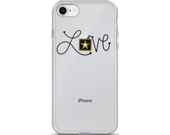 Love- Army Star iPhone Cases 6/6s/7/8/X/Plus