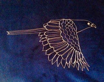 Copper wire crow pheasant