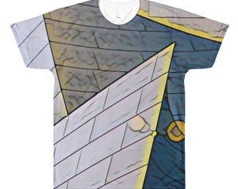 Around LA All-Over Printed T-Shirt